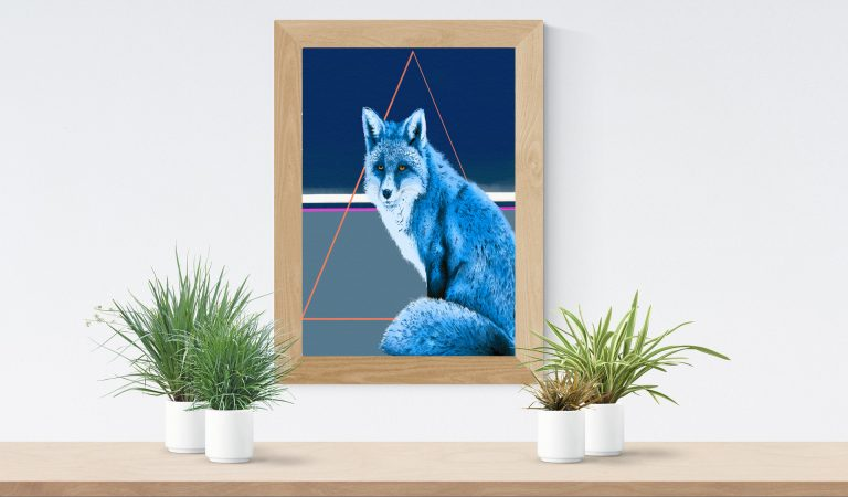 ref fox framed